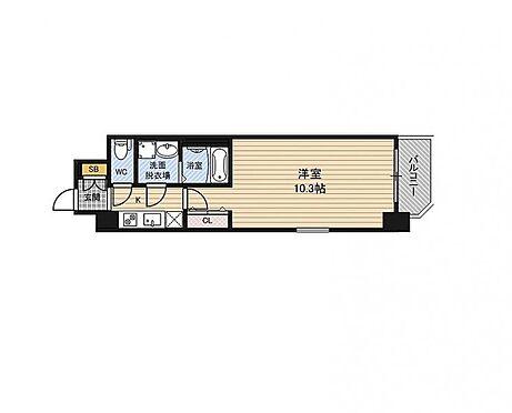 マンション(建物一部)-大阪市福島区福島8丁目 間取り