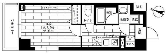 マンション(建物一部)-川崎市多摩区三田1丁目 間取り