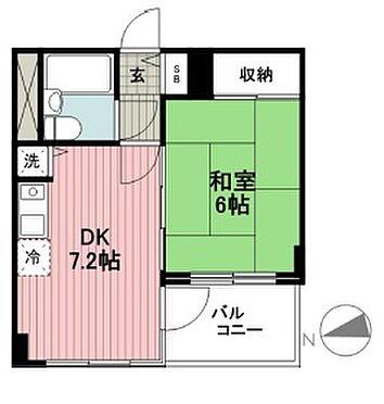 区分マンション-横浜市鶴見区駒岡1丁目 間取り