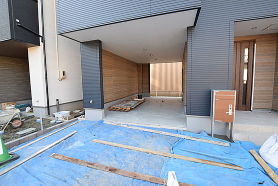 新築一戸建て-仙台市太白区郡山8丁目 駐車場