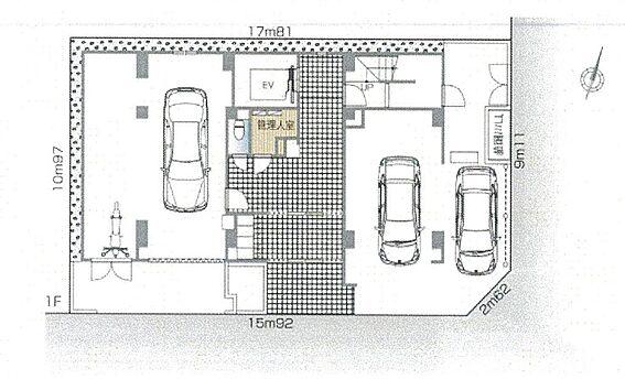 マンション(建物全部)-港区赤坂2丁目 配置