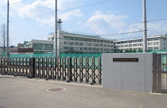 戸建賃貸-仙台市太白区緑ケ丘3丁目 長町中学校 約1000m