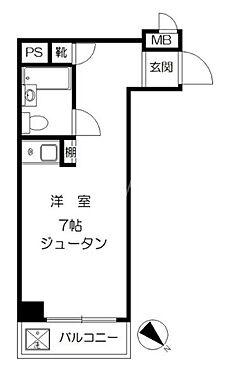 マンション(建物一部)-台東区千束4丁目 間取り