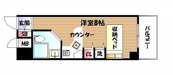 区分マンション-神戸市長田区大橋町3丁目 カウンターキッチンでオシャレです。