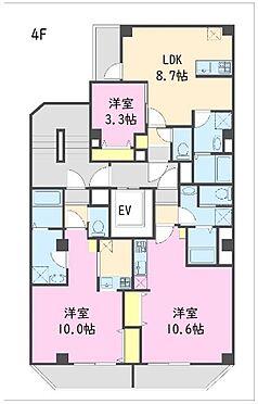 一棟マンション-江東区東陽5丁目 4階 間取図