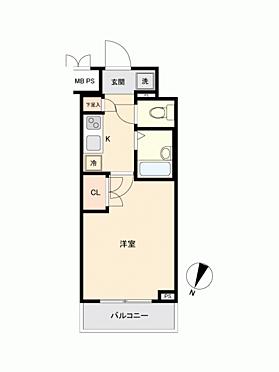 マンション(建物一部)-横浜市南区前里町 間取り