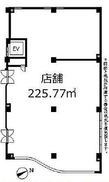 店舗事務所(建物一部)-藤沢市大庭 間取り
