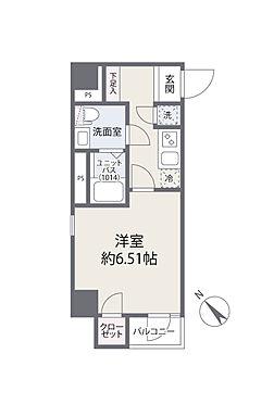 中古マンション-文京区白山3丁目 間取り図