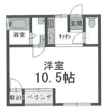 マンション(建物一部)-京都市左京区一乗寺築田町 バストイレ別のセパレートタイプ