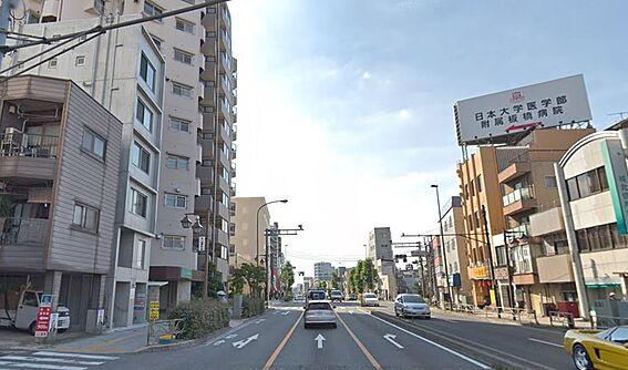 マンション(建物全部)-板橋区大山西町 前面道路