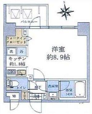 マンション(建物一部)-江東区木場5丁目 間取り