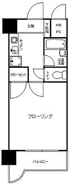 中古マンション-福岡市城南区長尾1丁目 間取り