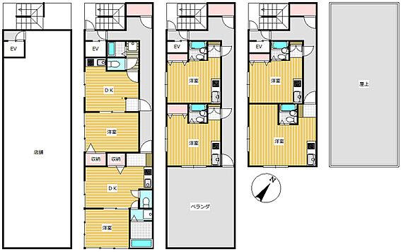 マンション(建物全部)-葛飾区白鳥4丁目 間取り