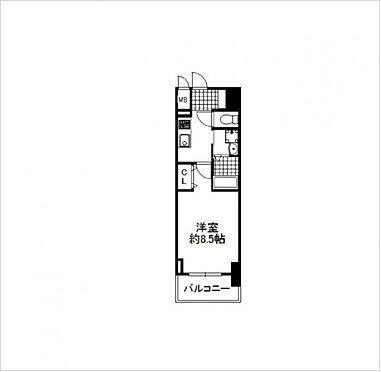 マンション(建物一部)-大阪市大正区三軒家西3丁目 間取り
