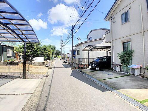 戸建賃貸-碧南市尾城町4丁目 車の通りも少なく、閑静な住宅街です。