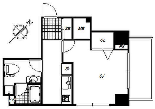 マンション(建物一部)-台東区浅草橋3丁目 最上階・南東向きの角住戸で陽当り・通風良好です。