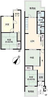 区分マンション-浦安市入船5丁目 専用庭付き1・2階タイプ
