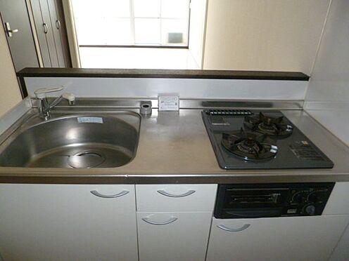 区分マンション-新宿区馬場下町 コンパクトなキッチンで掃除もラクラク