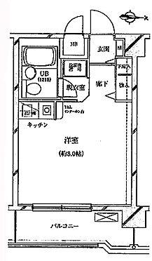 中古マンション-中野区中央1丁目 間取り