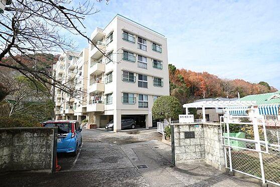 区分マンション-宝塚市宝松苑 間取り