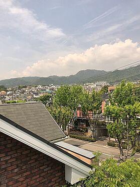 アパート-芦屋市岩園町 3階和室からの眺望