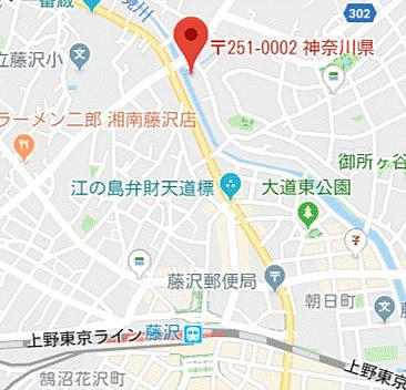マンション(建物一部)-藤沢市大鋸2丁目 地図