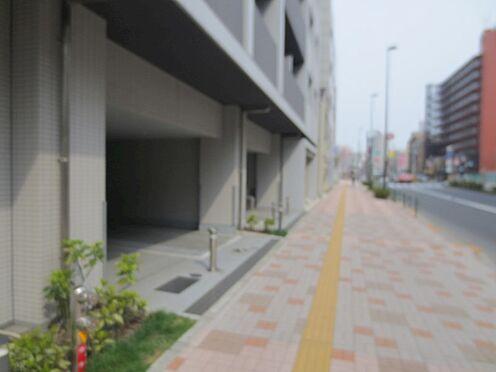 中古マンション-江東区新大橋3丁目 前面道路