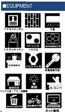 アパート-新宿区西早稲田1丁目 設備案内
