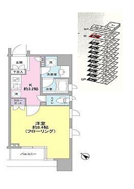 マンション(建物一部)-中央区銀座3丁目 11階部分南西向き、汐留方面に向いています