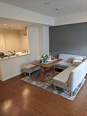 中古マンション-川口市青木4丁目 ※配置されている家具はディスプレイ用です