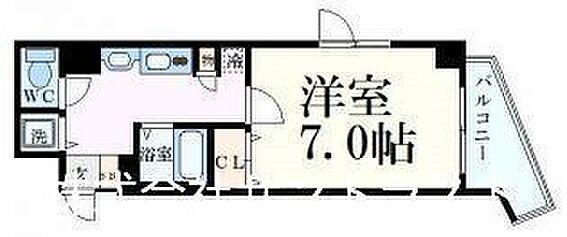 区分マンション-神戸市中央区中町通2丁目 間取り