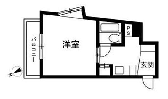 マンション(建物一部)-福岡市中央区清川2丁目 間取り
