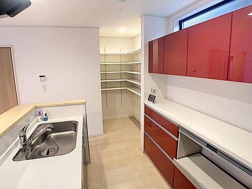 中古一戸建て-豊田市平山町5丁目 収納力のあるキッチン!生活感を感じさせないおしゃれな生活を♪