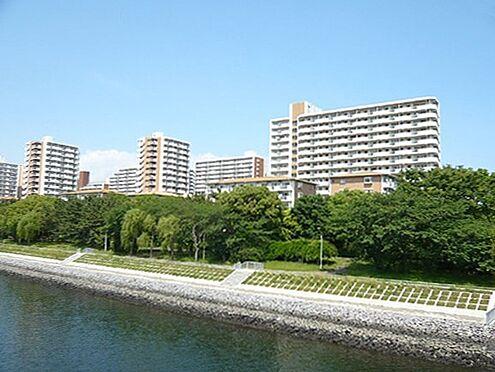 中古マンション-品川区八潮5丁目 八潮パークタウンは 運河と緑に囲まれた街です。