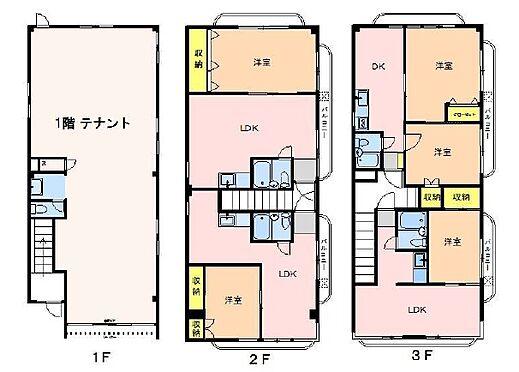 マンション(建物全部)-福生市加美平 間取り