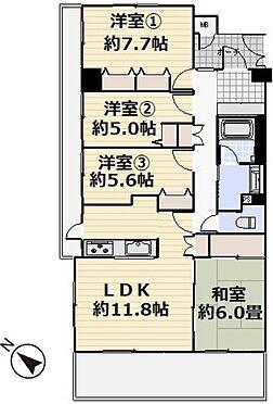 マンション(建物一部)-越谷市瓦曽根1丁目 ●角部屋・4LDK●