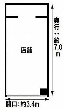 区分マンション-大阪市中央区船場中央3丁目 間取り