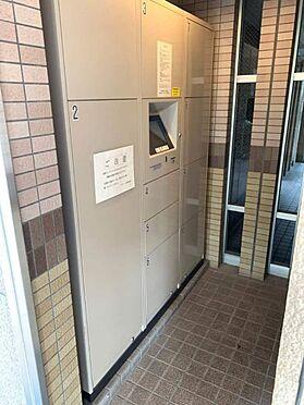 中古マンション-名古屋市港区錦町 宅配ボックスがあるので留守中でも荷物を受け取れます!