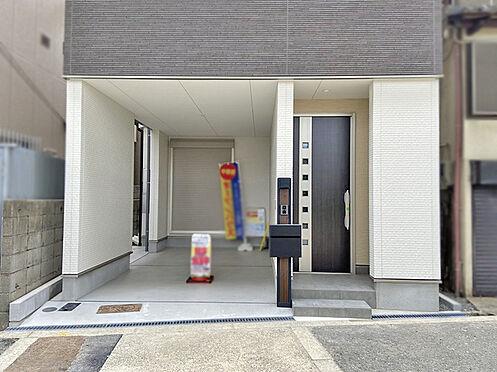 新築一戸建て-大阪市平野区背戸口3丁目 玄関
