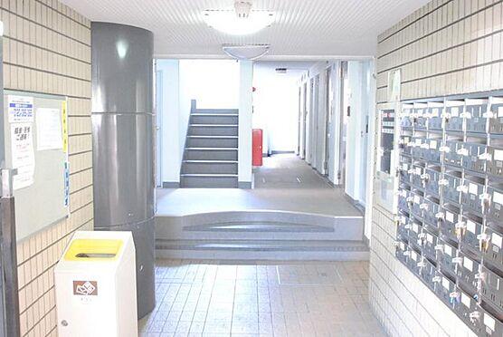 マンション(建物一部)-大阪市北区長柄中1丁目 明るく清潔感のあるエントランス。