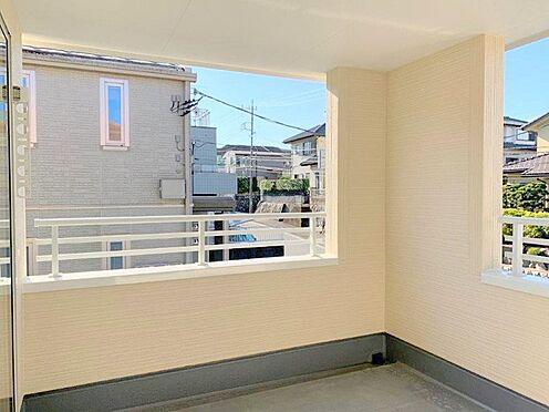 新築一戸建て-多摩市桜ヶ丘3丁目 2号棟バルコニー