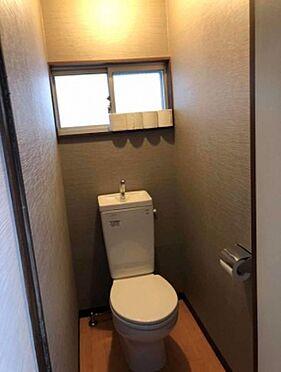 アパート-足立区扇1丁目 トイレ