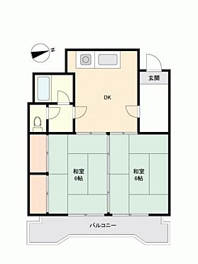 マンション(建物一部)-広島市中区白島九軒町 間取り