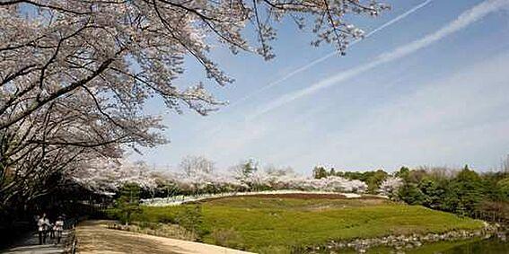 土地-豊田市西中山町神子塚 愛知県緑化センター 1100m