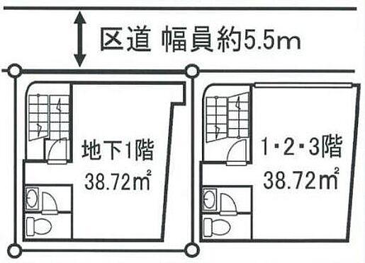 ビル(建物全部)-渋谷区富ヶ谷2丁目 間取り