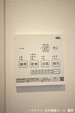 戸建賃貸-磯城郡田原本町大字阪手 雨の日のお洗濯に役立つ浴室乾燥機。浴室のカビ予防にも活躍します。