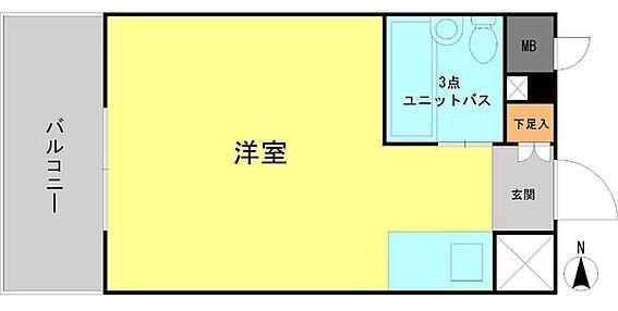 マンション(建物一部)-名古屋市中区新栄2丁目 間取り