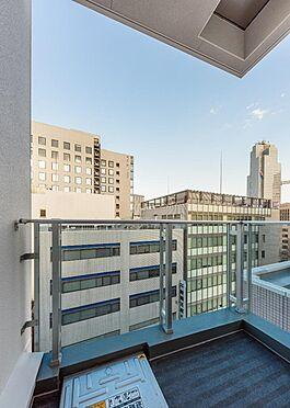 収益ビル-中央区築地3丁目 バルコニー