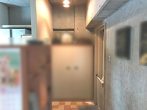 中古マンション-茨木市新郡山1丁目 玄関