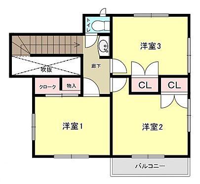 中古一戸建て-福岡市早良区飯倉4丁目 間取り2階